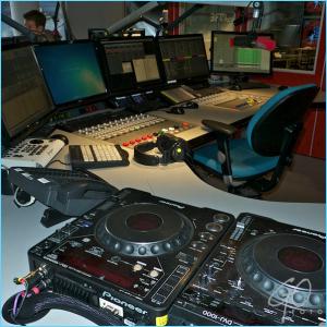 Dagfoto's maart 2012 3FM studio