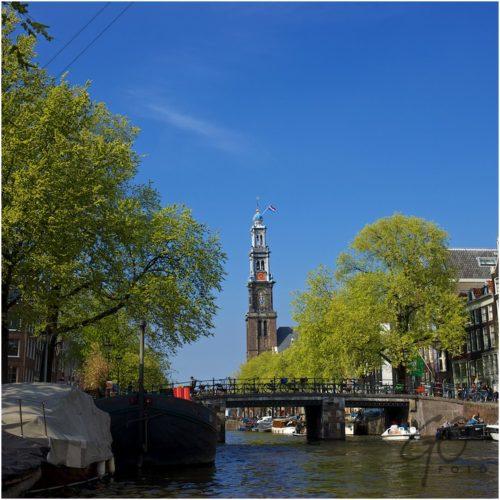 Toeristische fototips Amsterdam Westerkerk