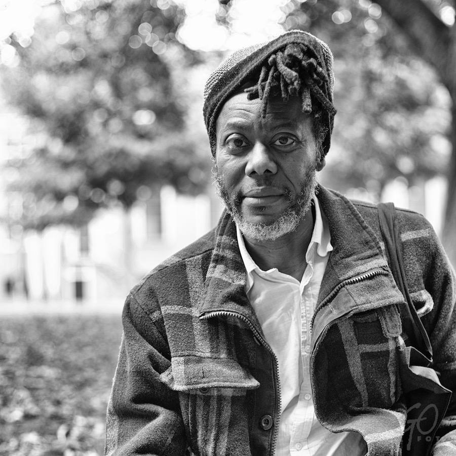 Abraham Diop Outsider Art Artist Portret