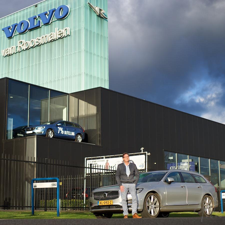 Mark van Roozendaal, directeur Volvo van Roosmalen, Waalwijk
