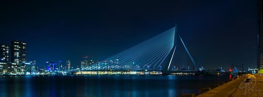 HOLLAND 2012 - Rotterdam, Erasmusbrug