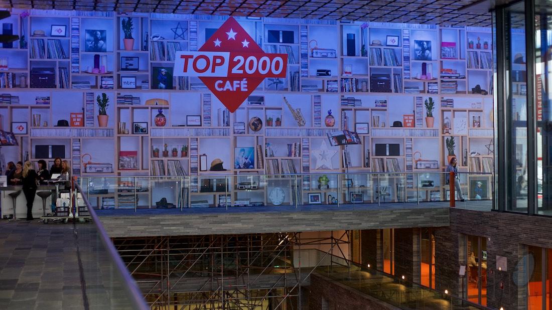 Top 2000 vertekent radiocijfers