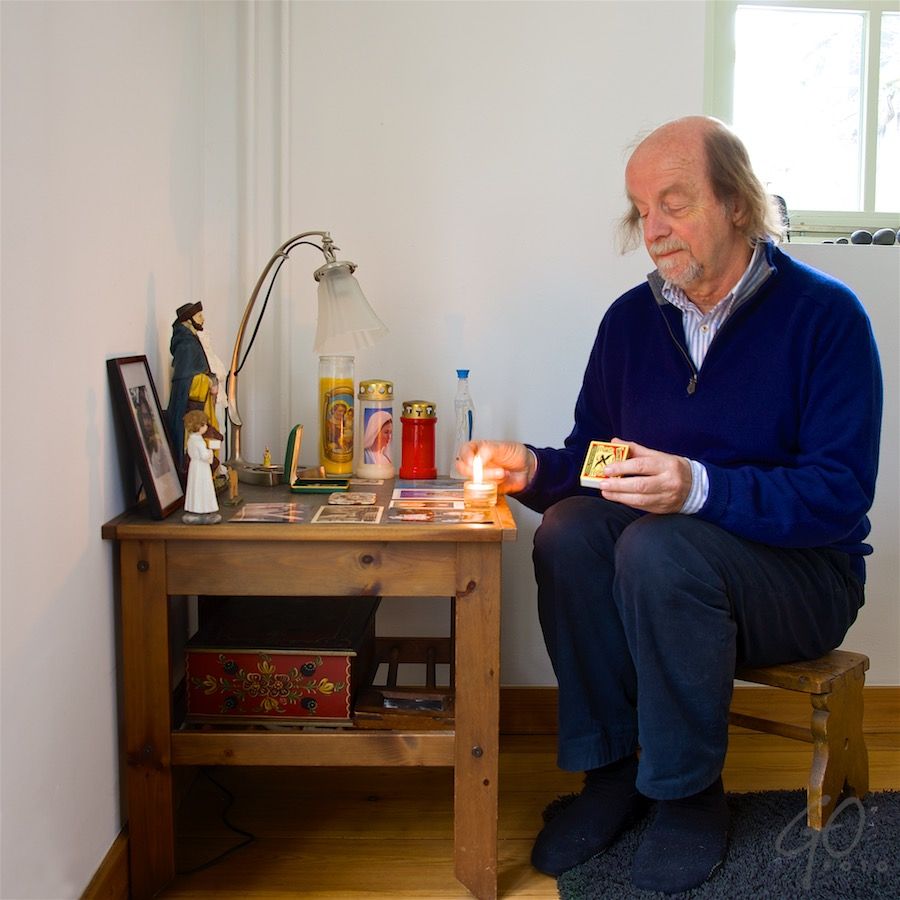 Kerkennacht 2015 serie over huisaltaren Aanleiding voor fotografie Klooster!