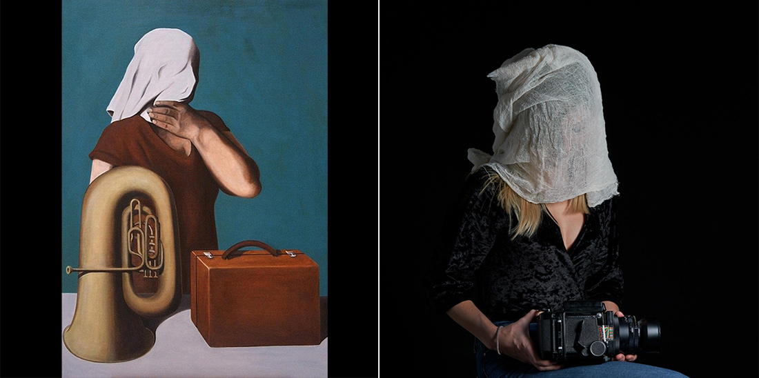 Based on The Central Story by Rene Magritte