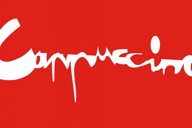 Cappuccino logo van een NCRV radioprogramma