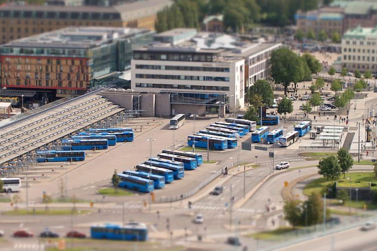 Gotenburg Busstation Chauffeur met heart of gold