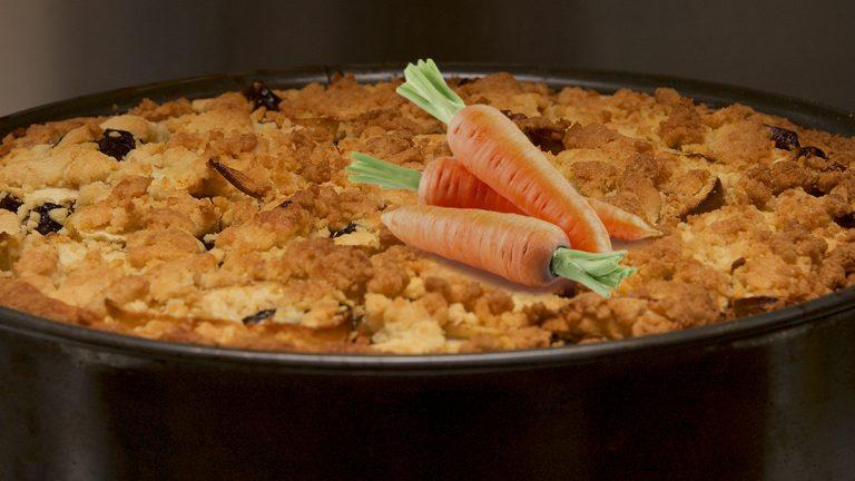 Fotomontage van taartblik bij blog over Wat vindt Google van worteltjestaart