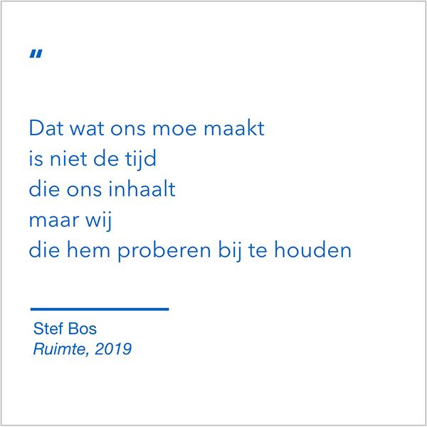 Stef Bos bij blog over Johannes Vermeer II