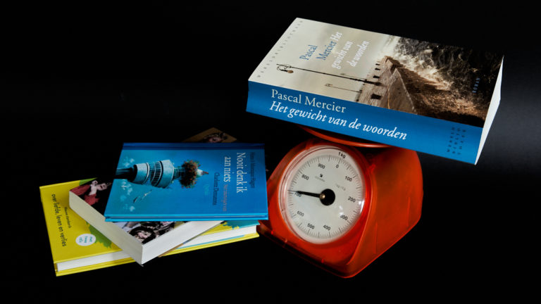 Pascal Mercier Het gewicht van de woorden Gerard Oonk